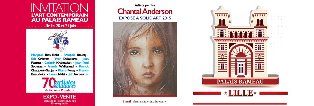 Exposition Art Contemporain au Palais Rameau à Lille juin 2015