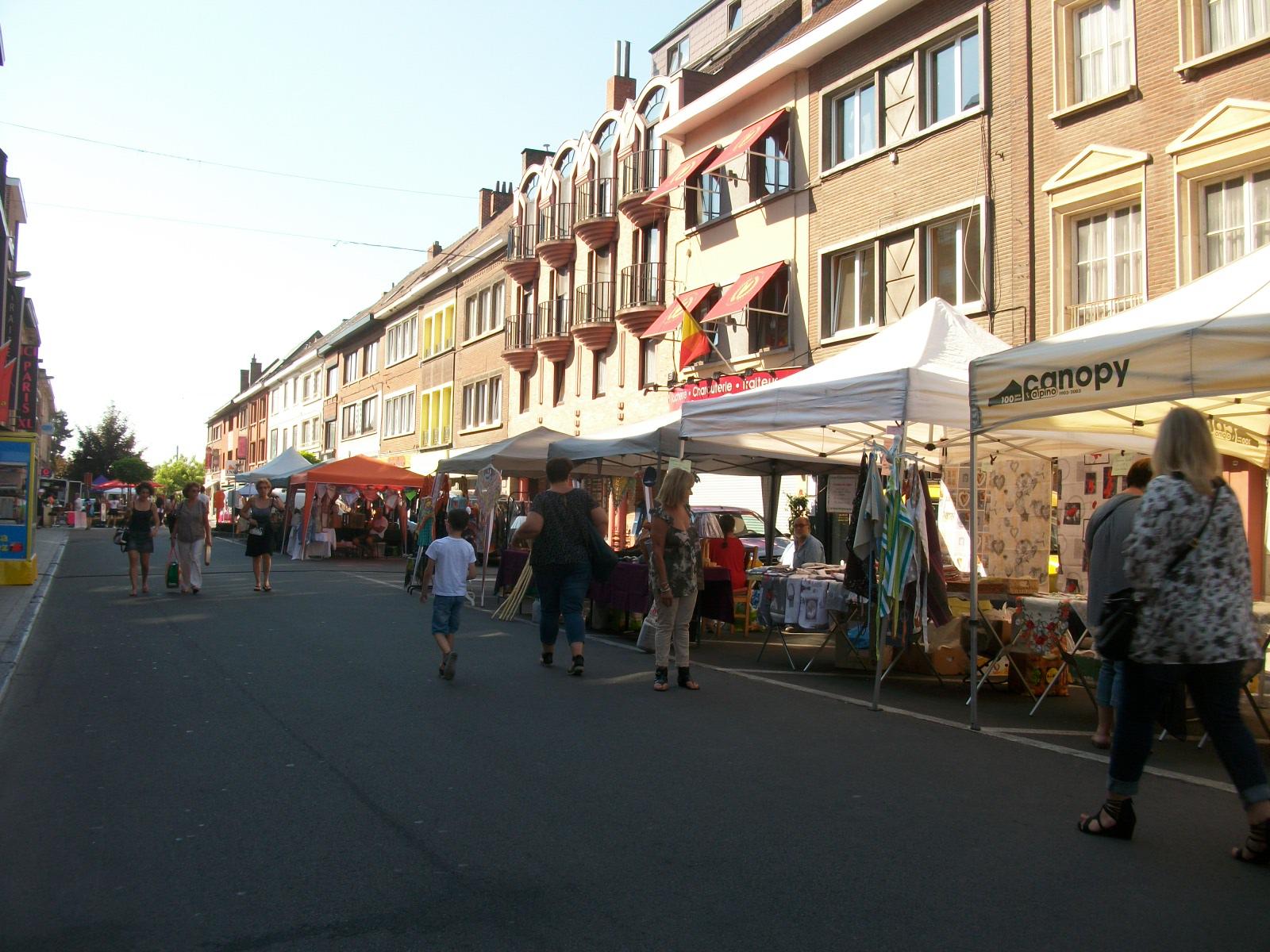 La rue Grande (Le matin...)